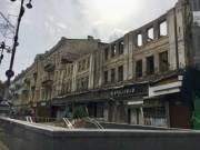 Опубліковані фото та відео зруйнованого центрального гастроному на Хрещатику