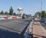 На путепроводе на пересечении улиц Елены Телиги и Кирилловской открыли движение