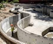 Киевлянам обещают показать обновленный зоопарк уже в октябре