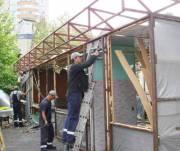 Возле озера Тельбин демонтировали МАФ-хостел