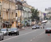 Улицу Сагайдачного в Киеве полностью очистили от рекламы