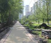 Завершили первую очередь строительства парка на Троещине