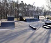 В Деснянском районе обустроили скейтпарк