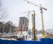 В Киеве сократили объемы строительства