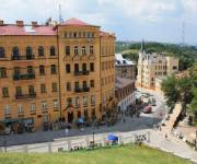 На Андреевском спуске появился новый туристический «умный» маршрут