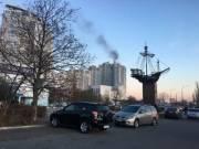 В Киеве загорелась элитная многоэтажка на Оболони