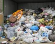 На Печерске проблемы с вывозом мусора