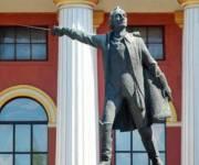 Памятник Суворову в Киеве демонтируют