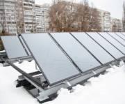 В детсадах Киева устанавливают солнечные коллекторы