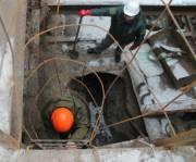 На улице Вербовой начали ремонт канализационного коллектора