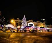 Где и когда перекроют движение транспорта на новогодние праздники в Киеве