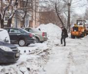 Киевлян оштрафовали на сотни тысяч гривен за неубранный снег