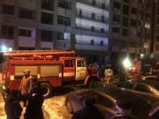 В Киеве на Печерске горел жилой комплекс