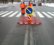 В Оболонском районе сделали безопасными для пешеходов несколько улиц