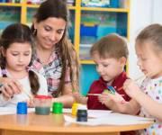 В Соломенском районе реконструируют детский сад