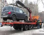 Стало известно, сколько неправильно припаркованных авто уже эвакуировали в Киеве