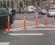 Дорожные вехи установили и на Почтовой площади