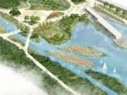 Киевлянам показали, как будет выглядеть парк «Почайна»