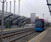 До конца года отремонтируют 9 станций скоростного трамвая