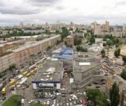 Транспортное сообщение на Лукьяновке улучшится после реконструкции Лукьяновской площади