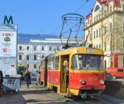 Трамвайные линии на Контрактовой площади капитально отремонтируют