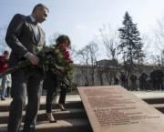 В столице открыли сквер Бориса Немцова