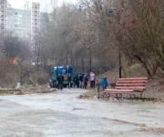 За день толоки из столичных парков вывезли тысячи кубометров мусора
