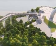 ЮНЕСКО не требовало прекратить строительство пешеходного моста на Владимирской горке