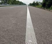 На трассах планируют делать шумовую дорожную разметку