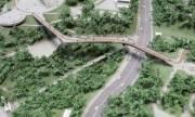 Строительство моста от Владимирской горки остановили из-за ЮНЕСКО