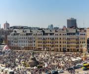 Из-за реконструкции фестиваля писанок на Софиевской площади в этом году не будет