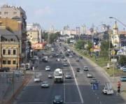 На улице Набережно-Крещатицкой в сторону Подола изменили схему движения