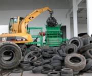 В столице закрыли пункты приема старых автомобильных шин