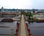 Вантовый мост через Днепр демонтируют в следующем году