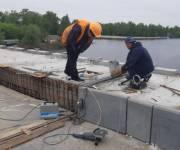 На Южном мосту капитально ремонтируют 6 деформационных швов
