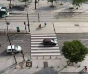 Перед пешеходными переходами будут устанавливать столбики