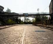 Пешеходный мост на Аллее Героев Небесной Сотни закрыли на месяц