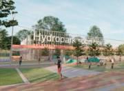 Киевлянам показали проект развития Гидропарка