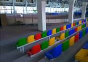 Киевлянам показали, как идет реконструкция легкоатлетического манежа на Березняках