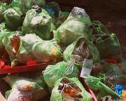За один день из Днепра достали 2 тонны мусора