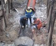 На Оболони реконструируют канализационный коллектор