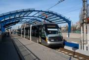 В Киеве в начале сентября откроют обновленные станции скоростного трамвая
