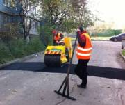 Уже отремонтировали дороги в 800 дворах в Киеве
