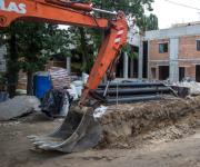Опубликовали новые фото и видео реконструкции столичного зоопарка