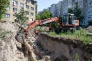 Ремонт канализационного коллектора на Голосеевском проспекте завершили