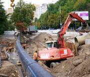 Работы на Мостицком канализационном коллекторе до сих пор продолжаются