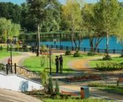 Третью очередь реконструкции парка «Наталка» завершат в этом году