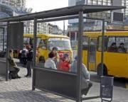 В Украине почти все остановки общественного транспорта небезопасные