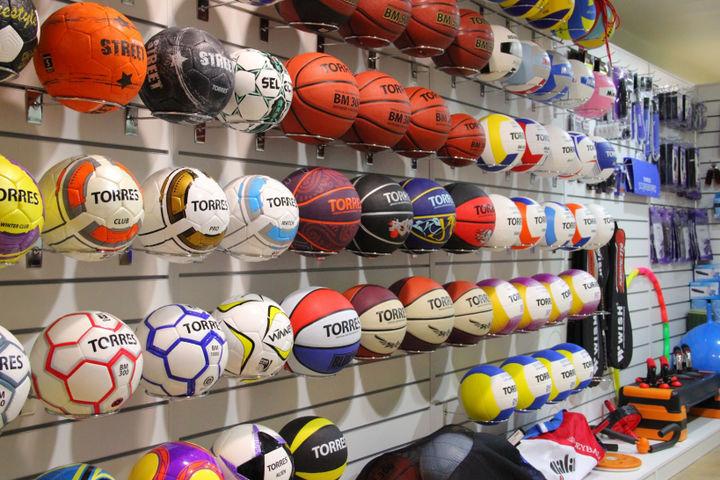 Покупка спортинвентаря в Санкт-Петербурге