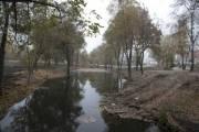 Киевлянам показали, как продвигается реконструкция парка на Троещине